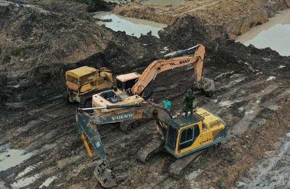 Garimpagem ilegal e Crimes Ambientais são combatidos em Peixoto de Azevedo
