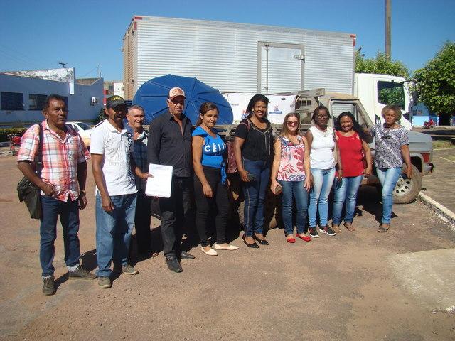 Kits de Irrigação são entregues a pequenos produtores de Peixoto