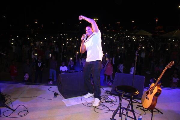 Noite Gospel coroada de fé e benção em Matupá