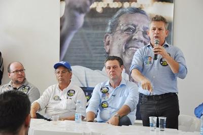 Candidato Mauro Mendes cumpriu agenda nos municípios de Matupá, Guarantã e Peixoto