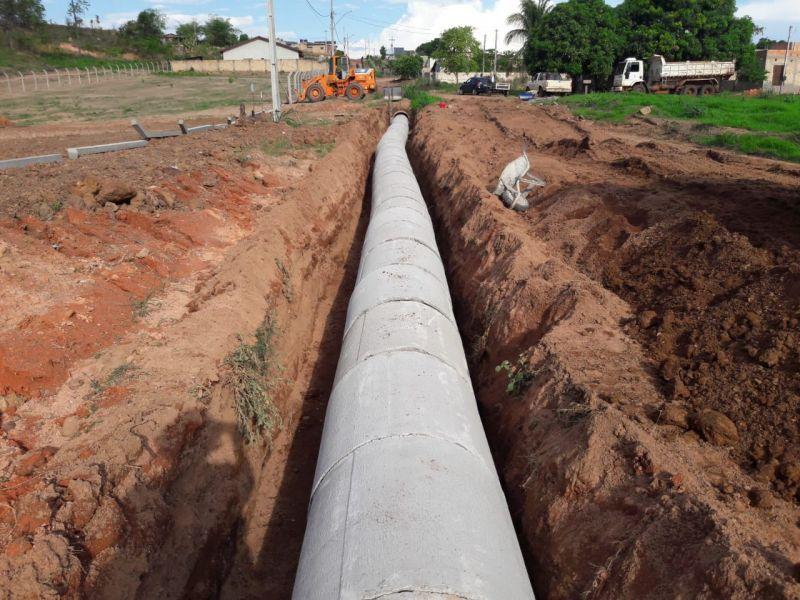 Obras de Infraestrutura Urbana em Nova Santa Helena