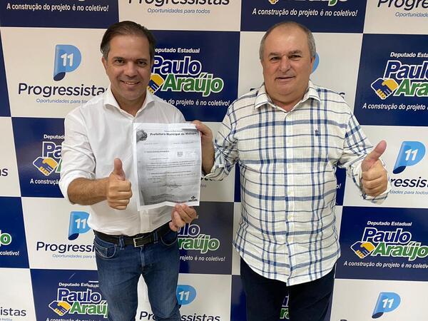 Deputado Paulo Araújo destina recursos para Ambulância 0 Km