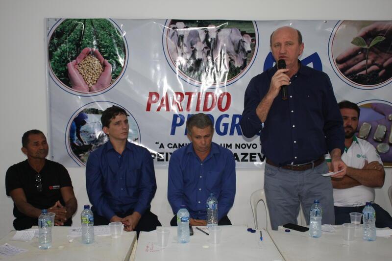 Neri Geller defenderá pleitos de Peixoto junto aos Ministérios em Brasília