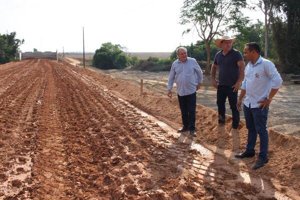 Ponte de Concreto do Rio Mineirão deverá ser liberada em 40 dias