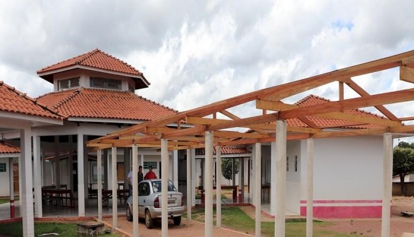 Escola Vista Alegre está recendo várias melhorias e investimentos estruturais