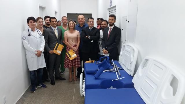 Ação do MPE resulta em R$ 500 mil de equipamentos hospitalares