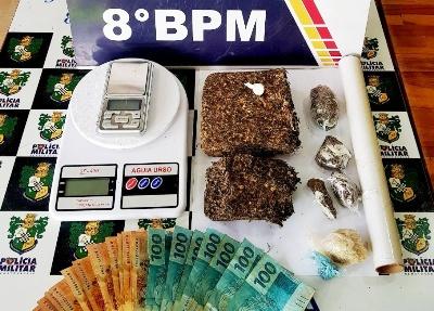 Polícia de Alta Floresta estoura Boca de Drogas
