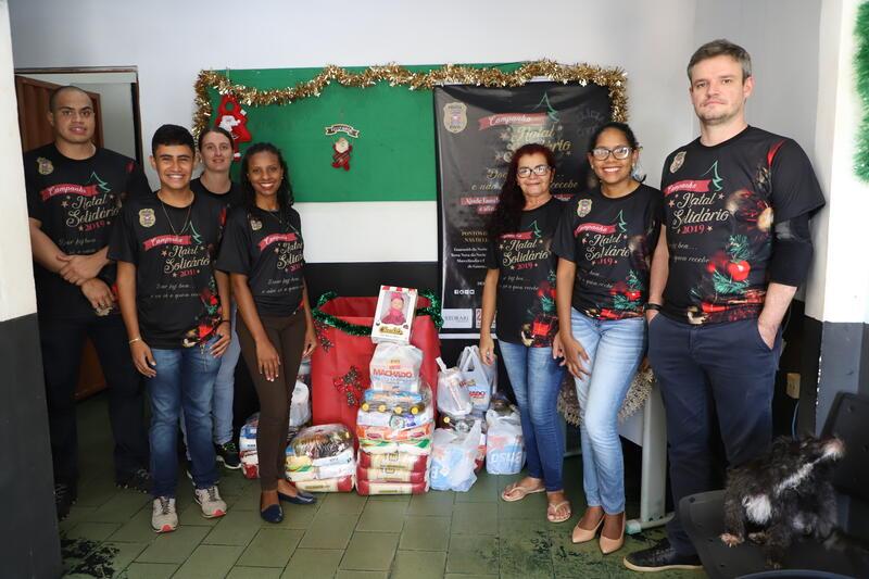 Natal Solidário é realizado pela Polícia Civil Matupaense