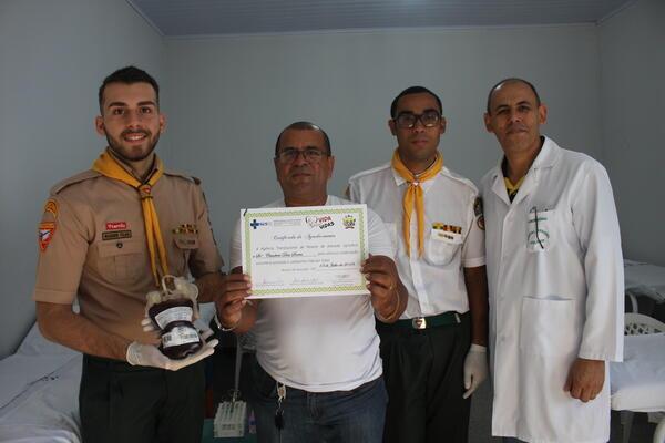 Superada meta da Campanha de Doação de Sangue em Peixoto