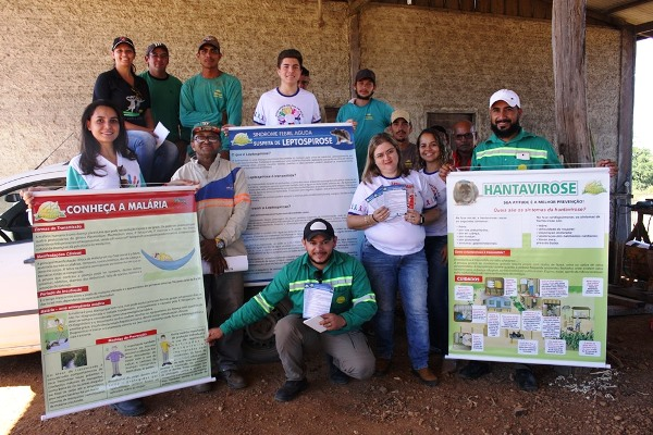 Nova Santa Helena recebe o Projeto Saúde do Trabalhador Garimpeiro