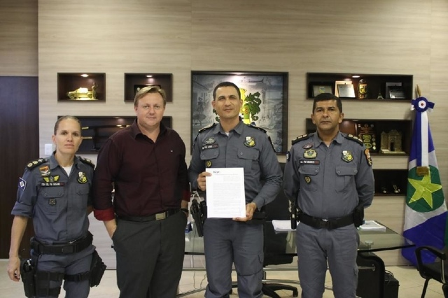 Polícia Militar e Unemat assinam termo para garantir diploma para policiais