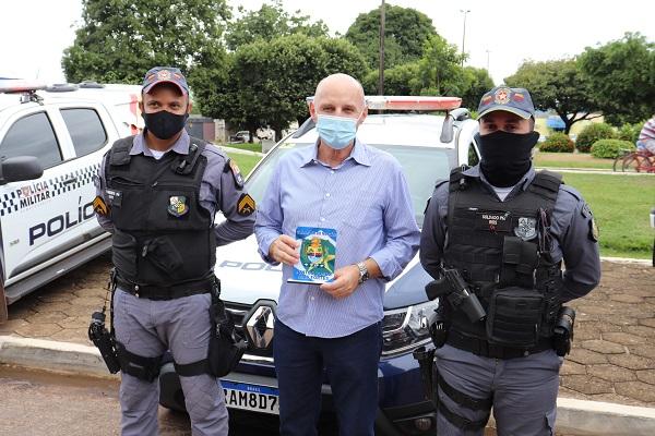 Cia de Polícia Militar de Matupá recebe nova viatura