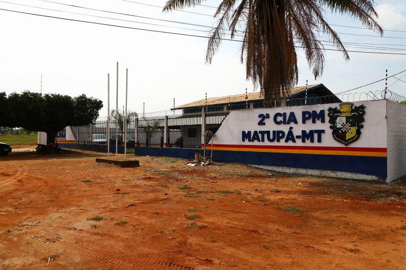 Reforma e Adequação do prédio da 2ª CIA PM de Matupá