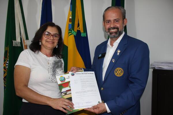 Governador do Distrito 4440 do Rotary Clube visitou Matupá