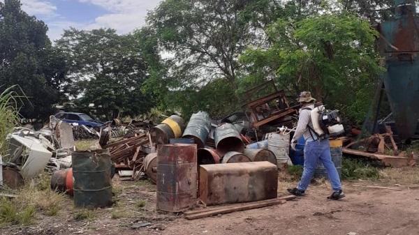 Intensificação do combate ao mosquito da dengue em Peixoto de Azevedo