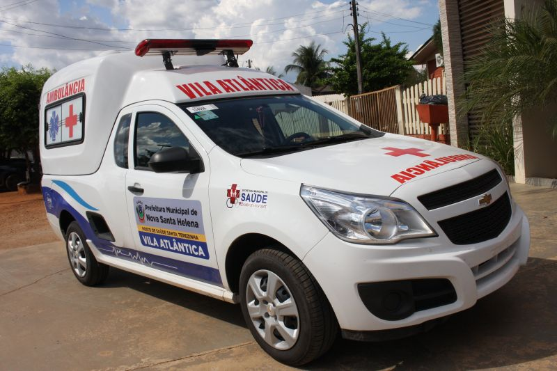 Vila Atlântica receberá domingo 01 Ambulância 0 Km