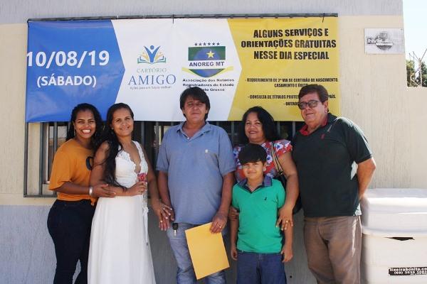 Projeto Cartório Amigo oficializa Casamento Civil