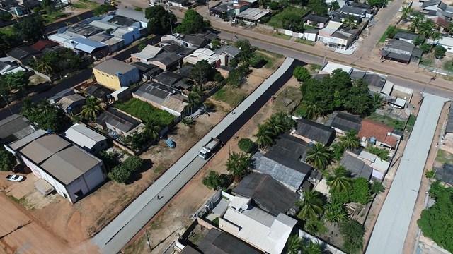Bairro Alvorada recebe R$ 1,2 milhão em obras de infraestrutura