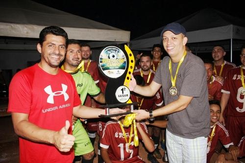 É Campeão: Fazenda São José ganha titulo do Municipal de Futebol 2019