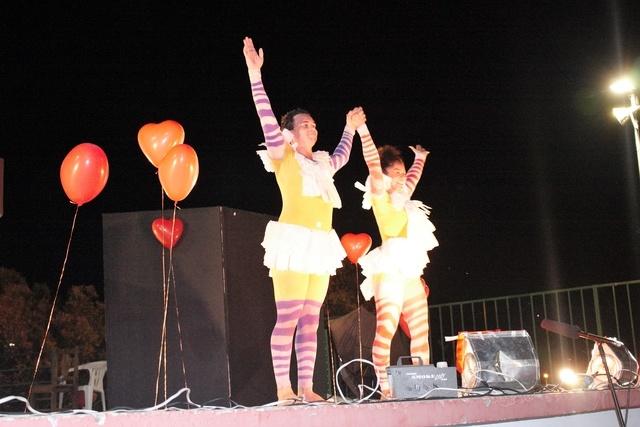 Peça Teatral Fiu Fiu é apresentada no Complexo dos Lagos de Matupá
