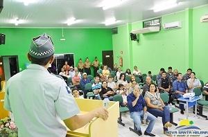 Projeto Luz do Amanhã é apresentado para população de Santa Helena