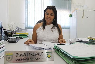 Dra. Ana Paula assumira a Delegacia Regional de Polícia Civil de Alta Floresta