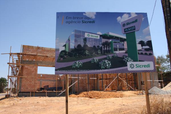 Nova Agência do Sicredi terá designer ambiental em Matupá