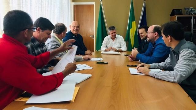 Prefeito de Peixoto pede a SESP-MT permanência do 15º CRPM