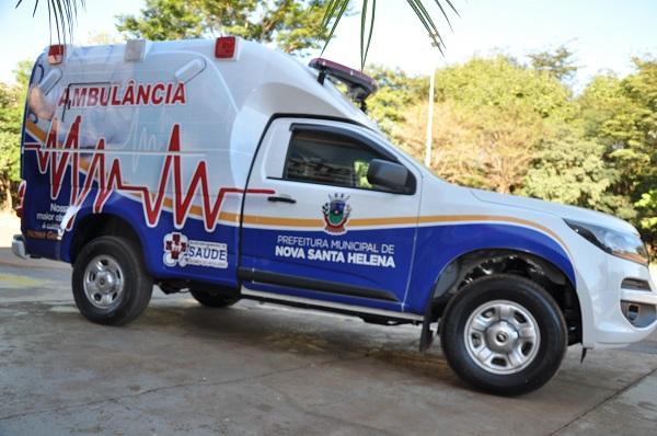 Nova Santa Helena adquire Ambulância 0 Km