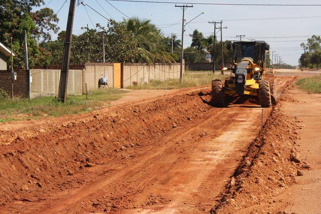 Prefeitura de Peixoto irá pavimentar a Rua Zé Doca