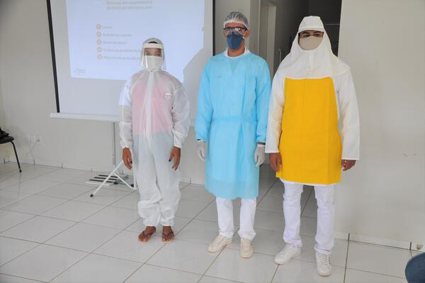 Treinamento Uso Correto de EPIs na Saúde durante a Pandemia