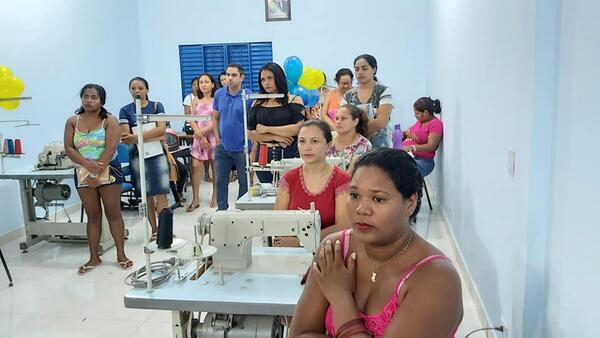 CRAS ganha Sala de Cursos Profissionalizantes