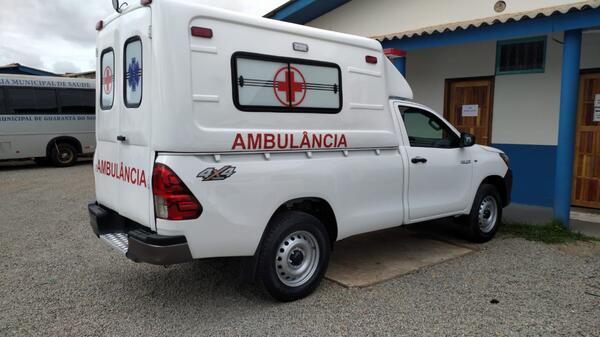 Guarantã do Norte adquire mais 01 ambulância 0 Km