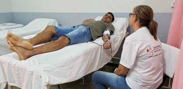 Sucesso a Campanha de Doação de Sangue de Nova Santa Helena