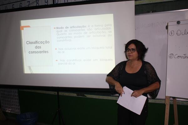 SME realiza mais uma formação de professores