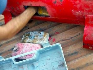 Polícia Federal e PRF apreendem 63 kg de drogas em Nova Santa Helena