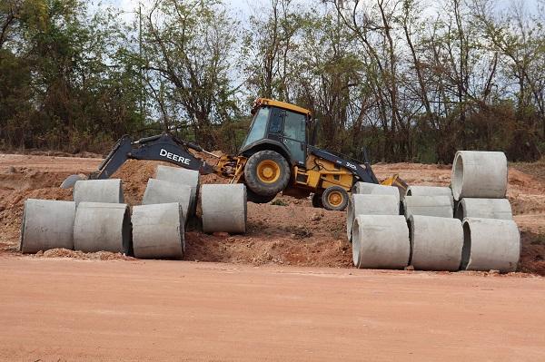 Canalização Pluvial da Avenida Cassilândia em Peixoto de Azevedo