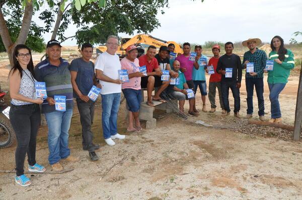 Saúde do Garimpeiro chega a região da Cuamba e Troca-Tiro