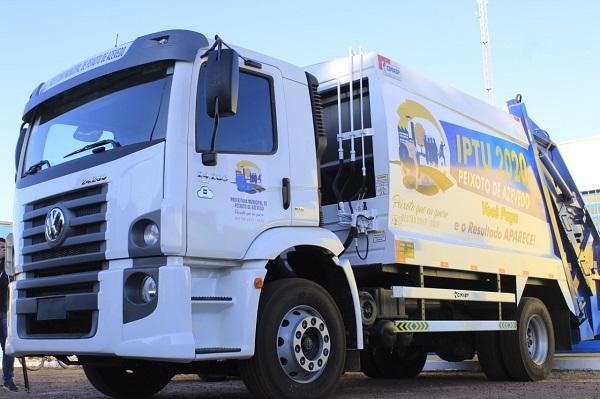 Cidade de Peixoto de Azevedo passa a contar com 02 Caminhões de Lixo