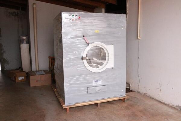 HM de Guarantã recebe equipamentos para a Lavanderia