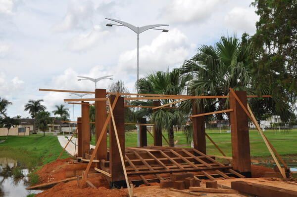 Lagos I e II recebem melhorias de urbanização turística