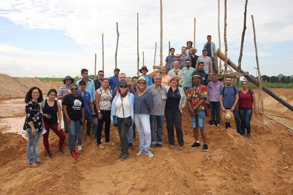 Pesquisadores Internacional participam de Dia de Campo sobre Mineração Sustenável