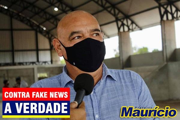Prefeito Maurício diz que Fake News visa desestabilizar administração