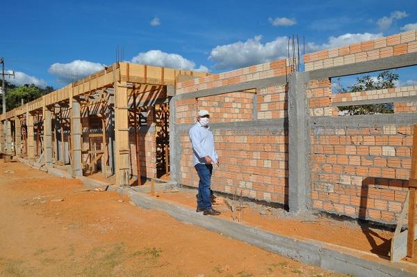 Escola Municipal Santo Antônio está sendo ampliada