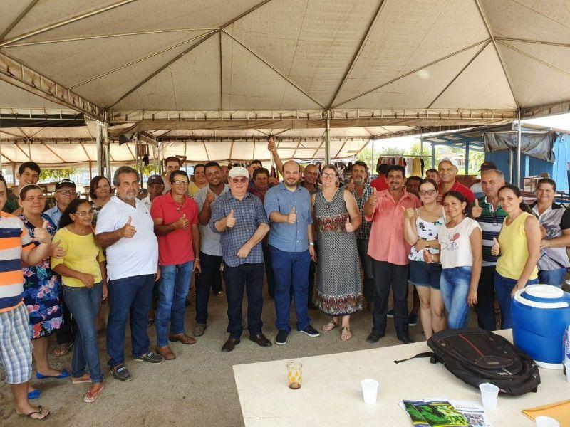 Dep. Fed. Dr. Leonardo recebe demandas de feirantes Matupaenses