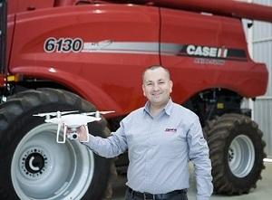 Case passa a oferecer serviço de mapeamento agrícola por drone