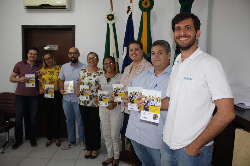 Reunião define estratégias para o Censo IBGE 2020 em Matupá