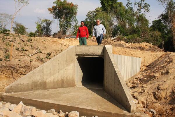 Estrada Divisa Norte recebe Obra de Infraestrutura Permanente